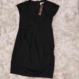 Liz Lange Black Maternity Sheath dress S